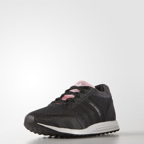 online store f38d7 f0803 adidas Los Angeles sko - core blackcore blacksuper pop