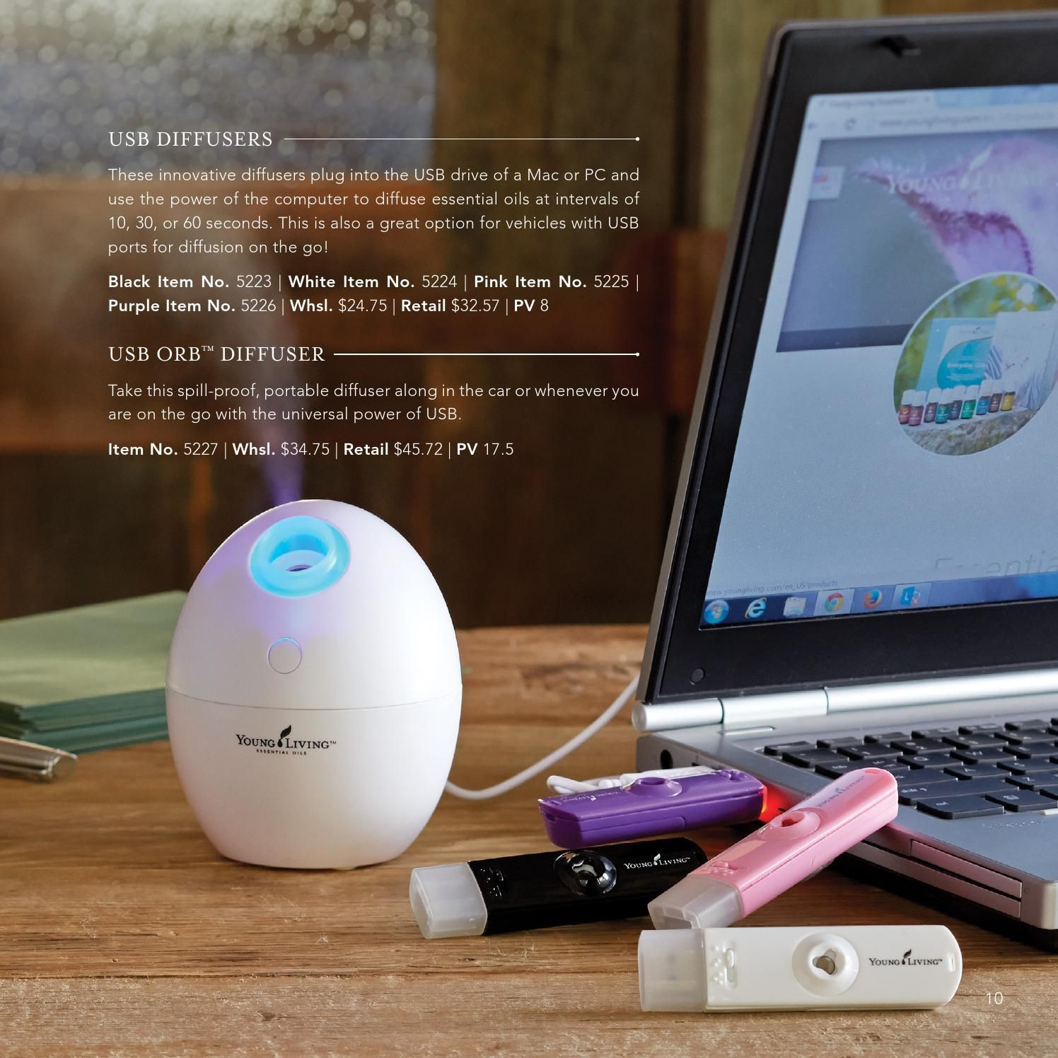 Attirant ISSUU   2014 Holiday Catalog By Young Living Essential Oils. The USB  Diffusers Are Amazing