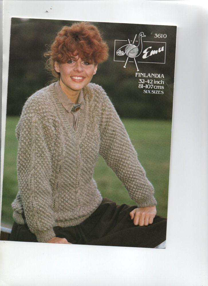 Details About Mens Cable Detail V Neck Sweater Slipover Aran