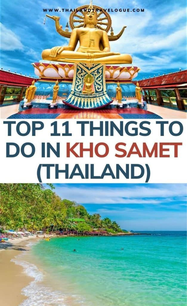 Top 11 BEST Things to do in Koh Samet -   19 travel destinations Thailand country ideas