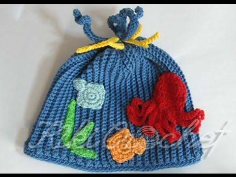 37fd582f5b3e Πλεκτο Καλοκαιρινο Σκουφακι με Βελονακι (μερος 1ο)  Crochet Deep Blue Sea  Hat (part 1) - YouTube
