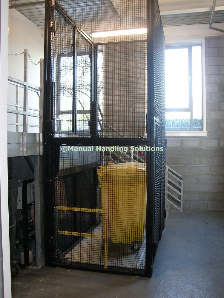 Wheelie Bin Lifts UK by Manual Handling Solutions For a quotation - website quotation