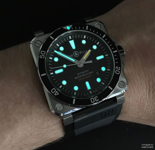 Bell Ross Br 03 92 Diver Automatic Watches For Men Bell Ross Watches For Men