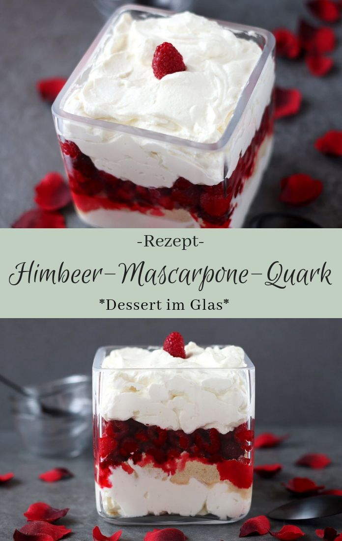 Himbeer-Mascarpone-Quark - The inspiring life