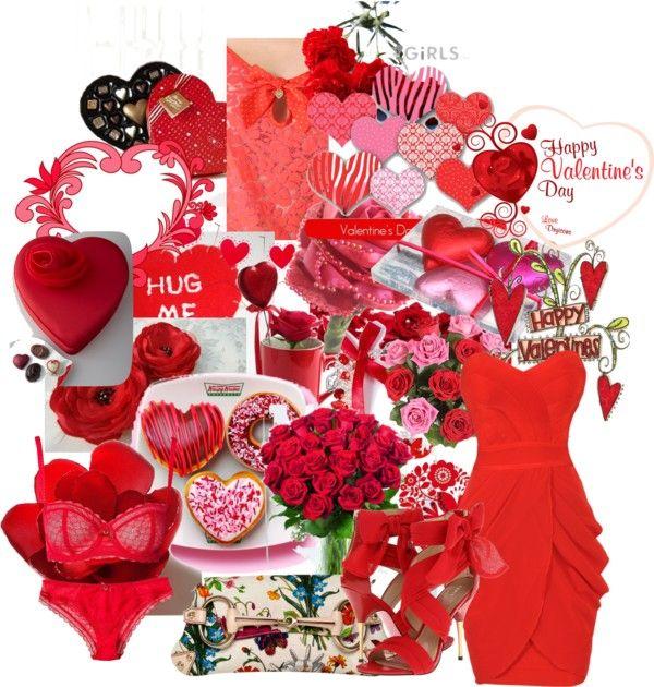 """Hot Valentine"" by rossellalola on Polyvore"