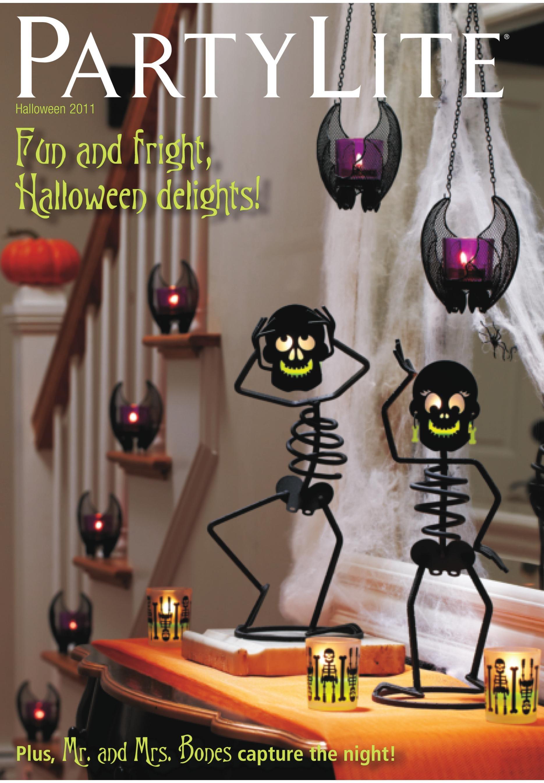 partylite halloween 2011 catalog httpwwwpartylitebizsites