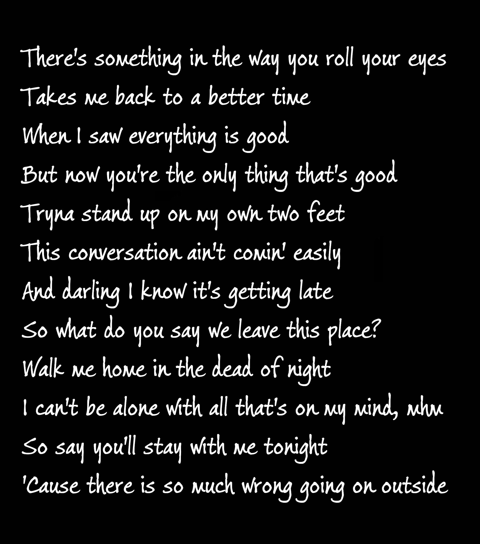 Pin By Angela On Lyrics Something In The Way Lyrics Stand Up