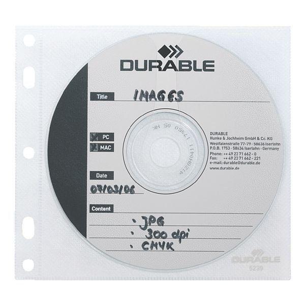 Abheftbare CD/DVD/Blu-ray-Schutzhüllen