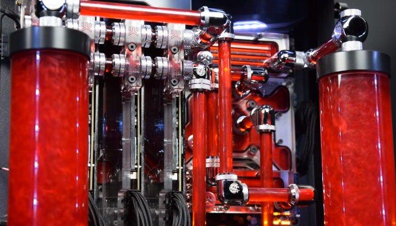 Water Cooling Rig Terbaik Liquid Cooling System Pilihan Custom