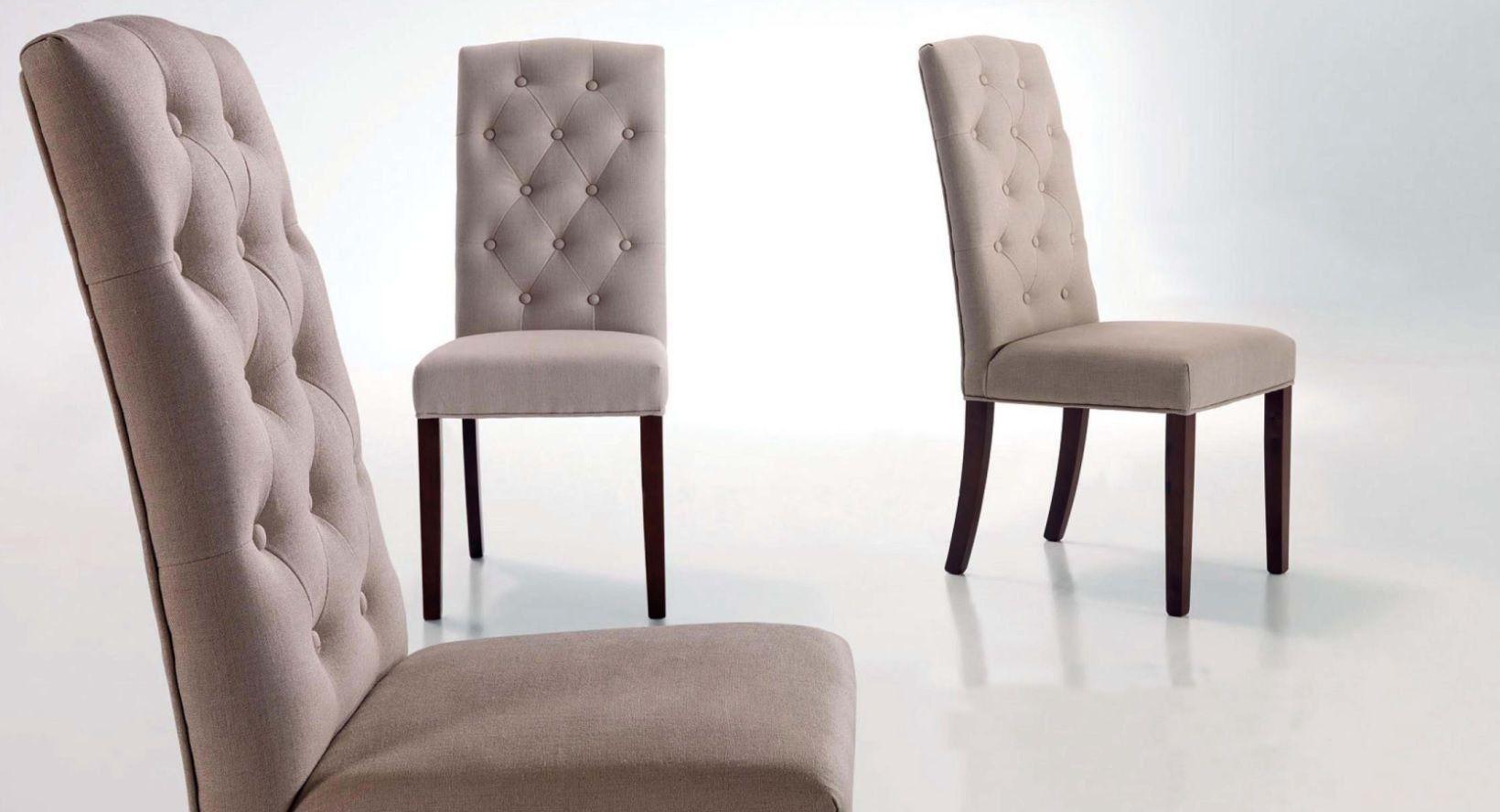 Silla respaldo alto benamer sillas de comedor sillas for Sillas de comedor tapizadas en gris