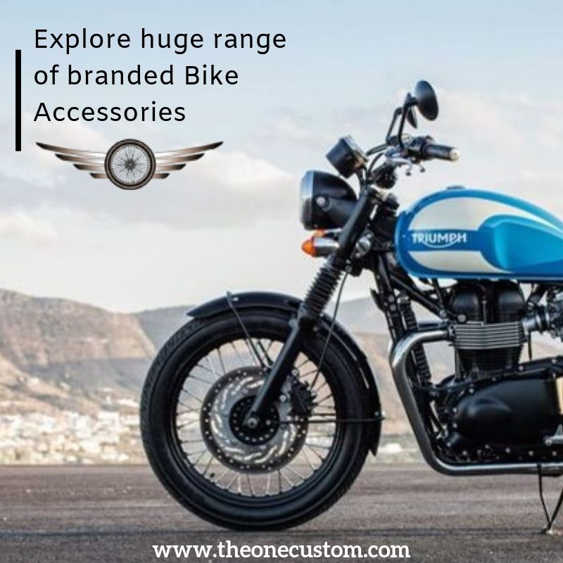 Explore A Huge Range Of Branded Bike Accessories At The One Custom