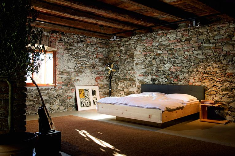 Tiroler Zirbe Tiroler Zirbenbett Pinterest Interiors - schlafzimmer holz massiv