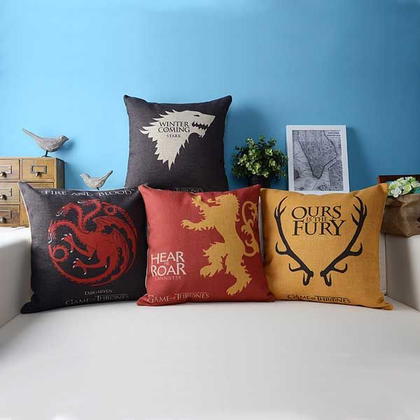 Game of Thrones Cushion Cover & Game of Thrones Cushion Cover | Gaming pillowsntoast.com