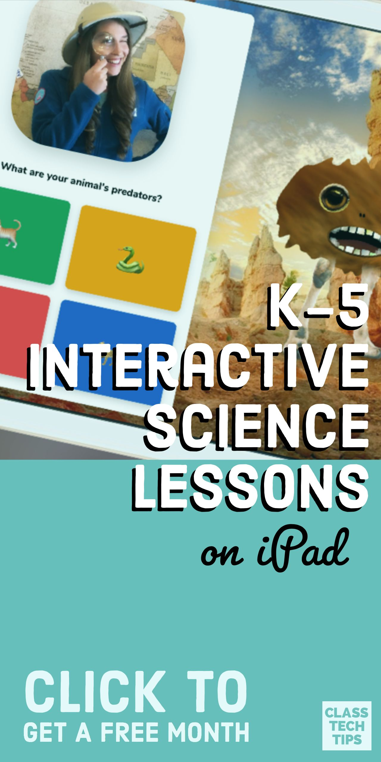 K 5 Interactive Science Lessons On Ipad Science Pinterest