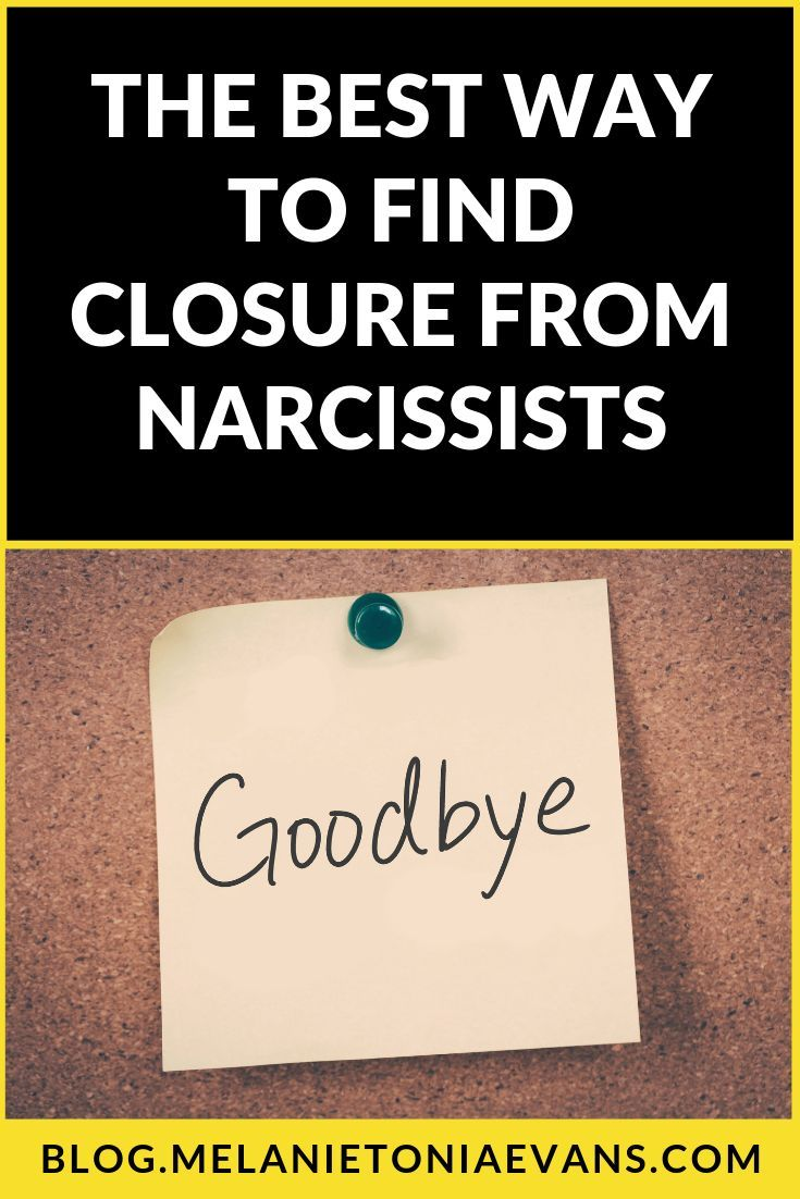 How To Find Closure When A Narcissist Discards You in 2020 ...
