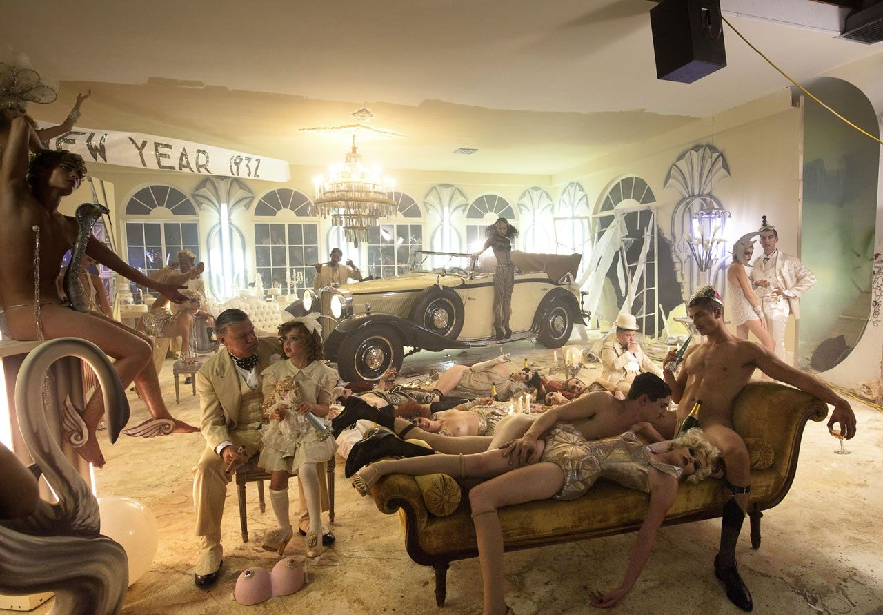 David LaChapelle portrays Maybach