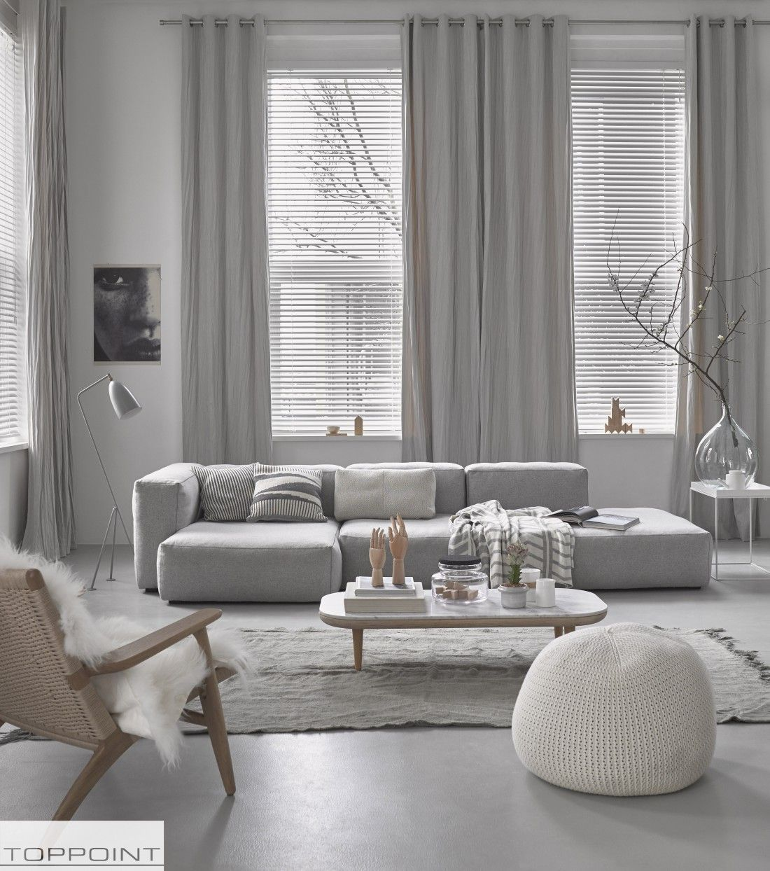 3 tips voor een all white interieur - Raamdecoratie, Interieur en ...