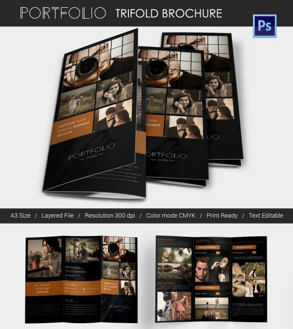 Photography Tri Fold Brochure Template
