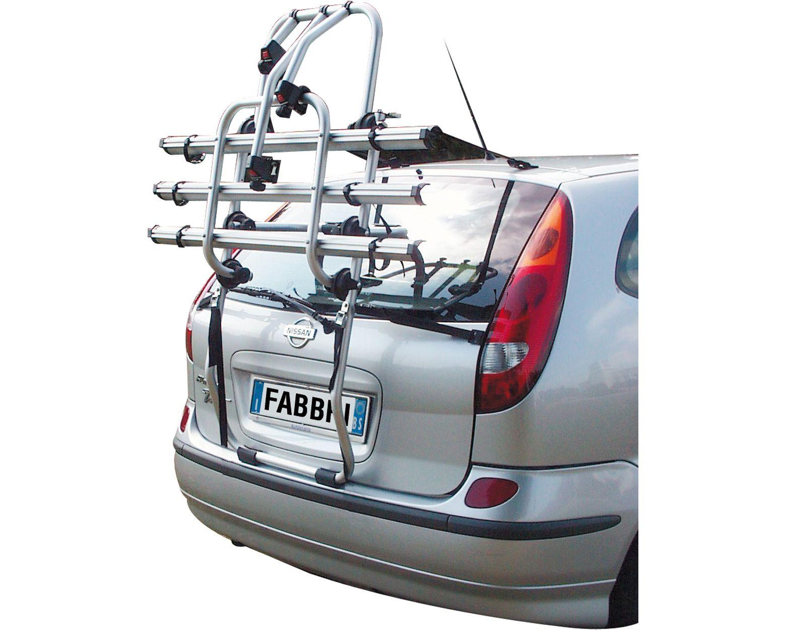 BICI OK 2 Van Rear bike rack to transport 2 bikes For