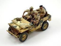 Risultati immagini per miniart british jeep