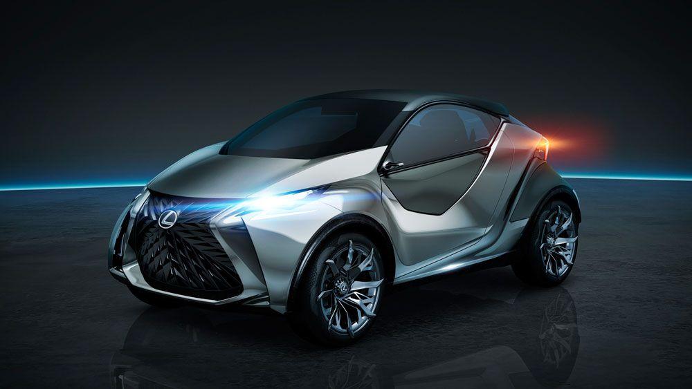 #Lexus LF-SA #ConceptCar Front. #compactcar