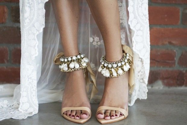 Chic Wedding Shoes To Complement Your Boho Style