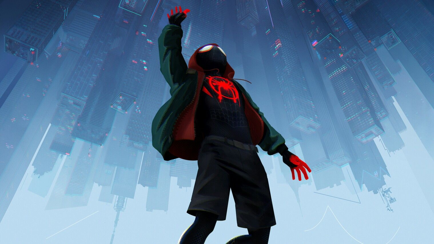 Spider Man Into Spider Verse 4k Wallpaper Spider Verse Spiderman Miles Morales Spiderman