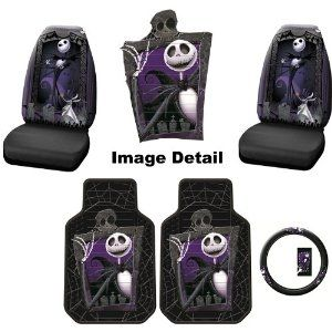 Nightmare Before Christmas Car Accessories