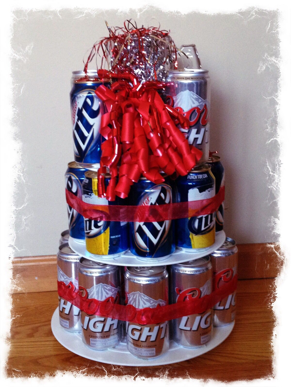 Stag And Doe Raffle Prize Beer Can Cake Doe And Stag Party