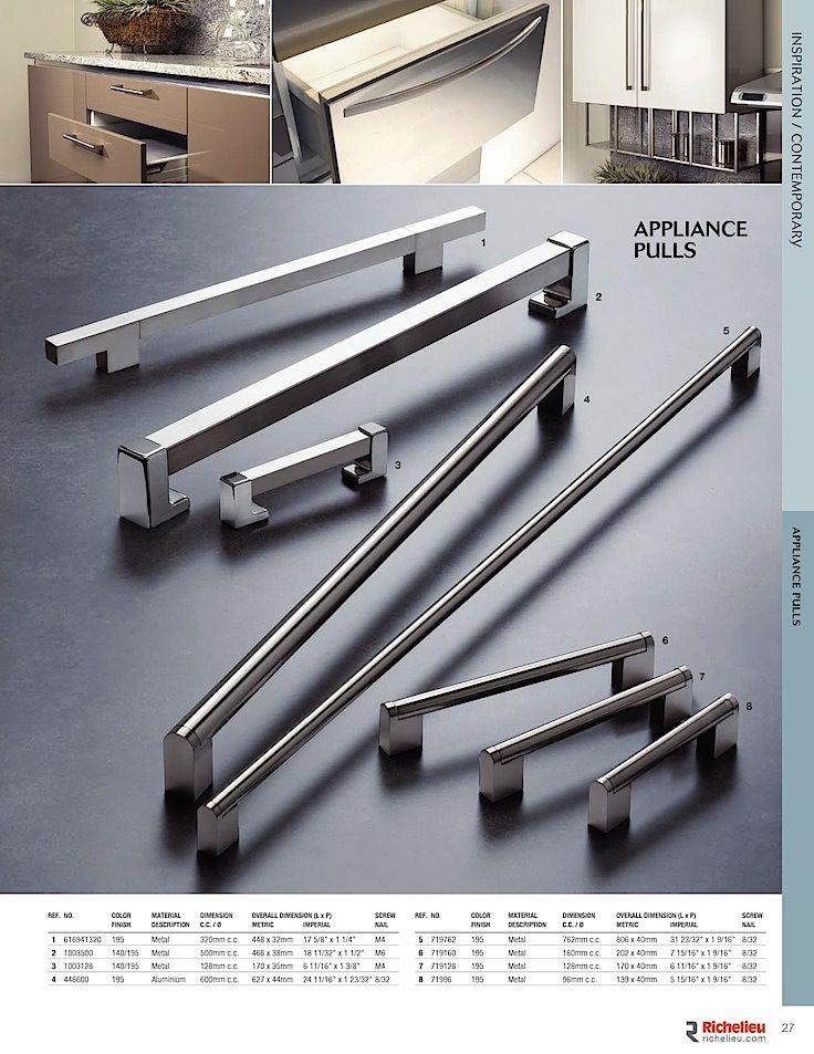 Bar Handle Furniture Kitchen Cupboard 190mm Hole Centres