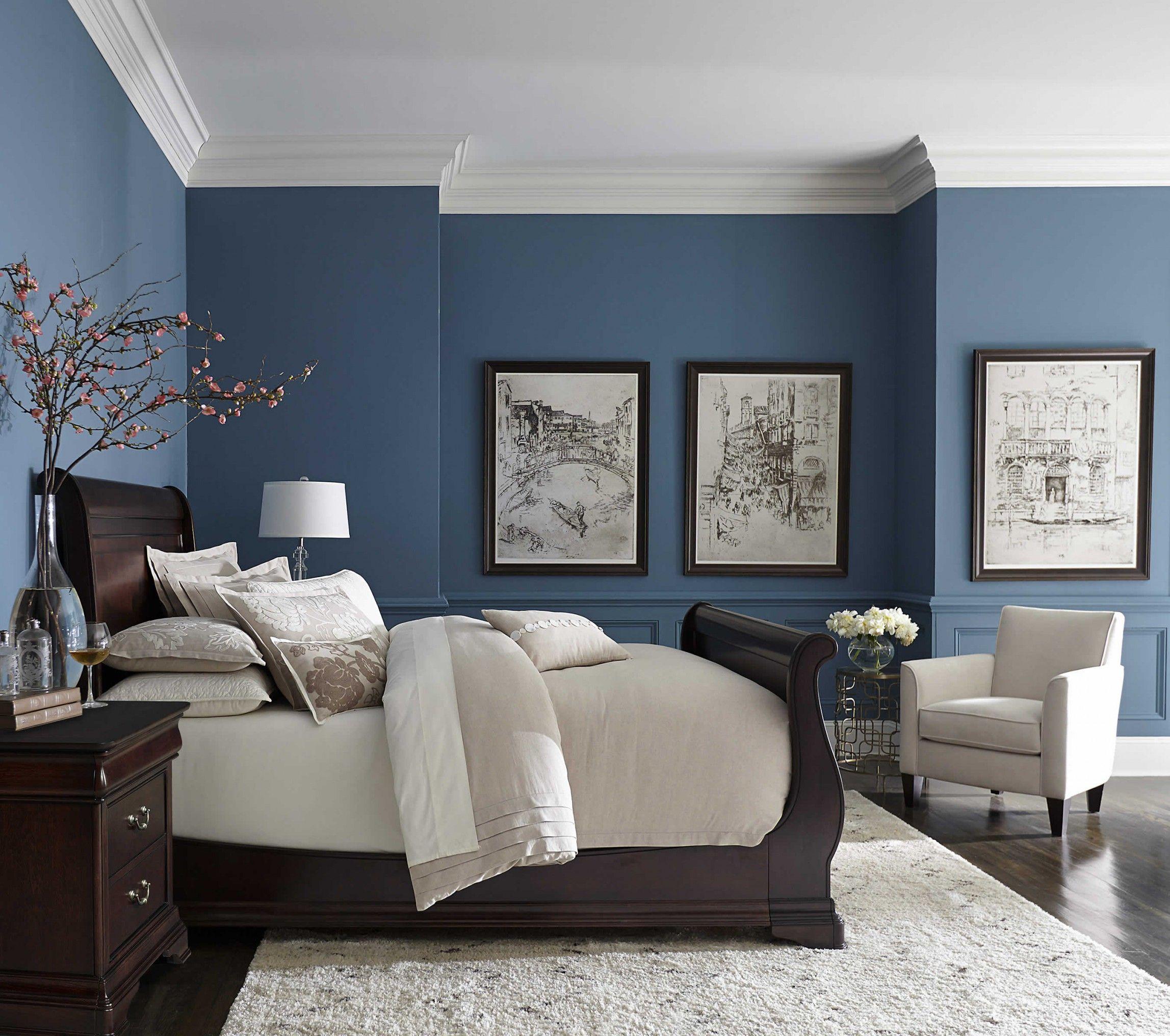 einfach dekorieren sie das schlafzimmer in blau | blue