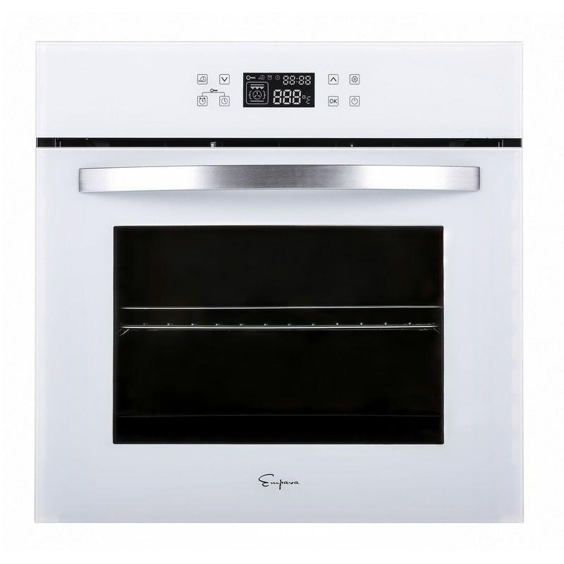 Empava 24 White Tempered Glass Electric Single Wall Oven Kqc65c 12