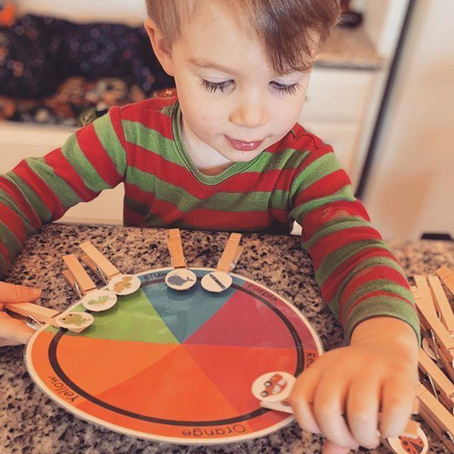 Our Homeschool Day: Preschool Busy Binder   Color ...