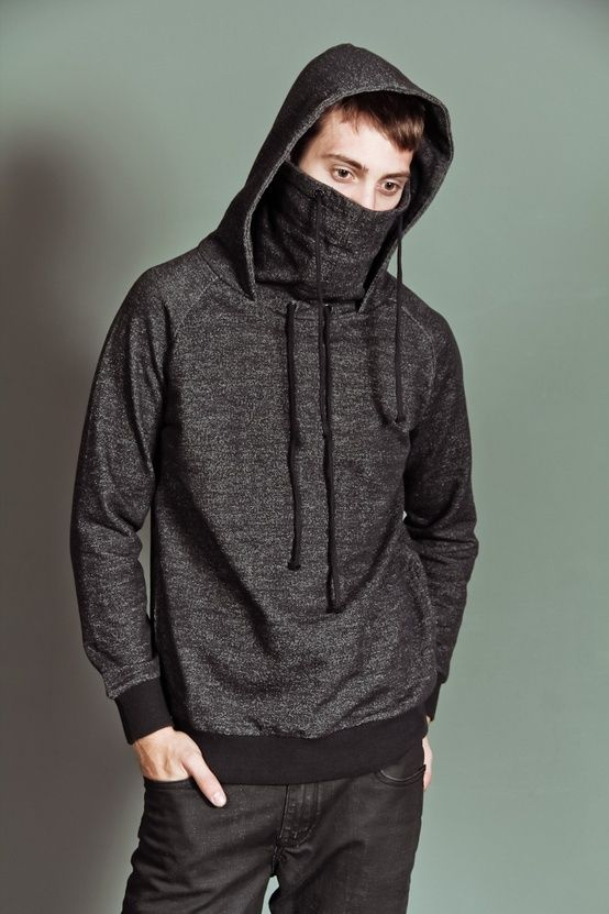 54e9a283 Ninja Hoodie / Arsnl | My Style | Fashion, Mens fashion:__cat__, Clothes