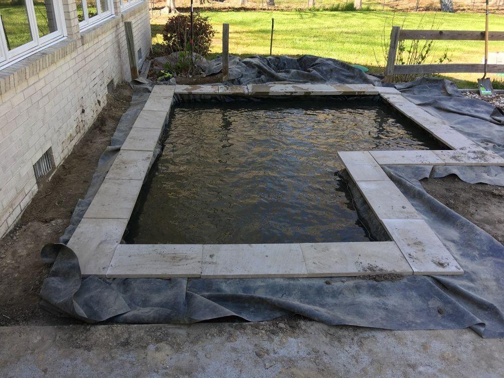Diy modern backyard koi pond on a budget diy pond