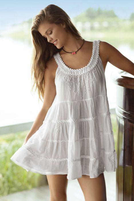 robes de plage blanches sur pinterest. Black Bedroom Furniture Sets. Home Design Ideas