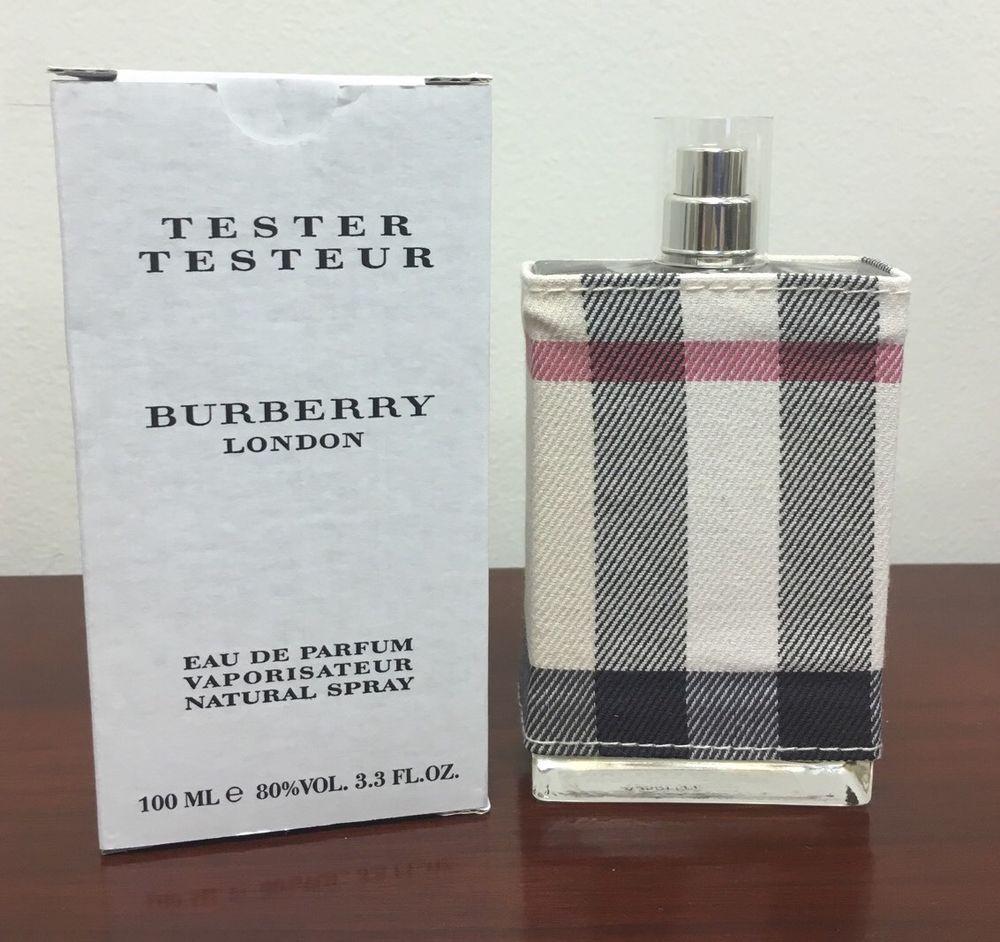 Burberry London Fabric Women Perfume Spray 33 34 Oz Edp Tester