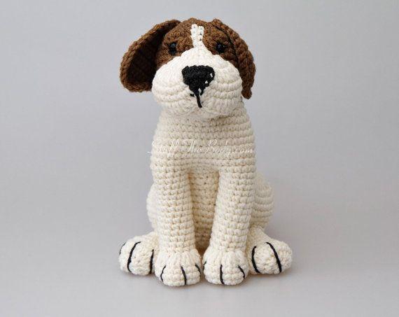 Amigurumi Lion Perritos : Azor the beagle dog amigurumi pattern puppy crochet pattern