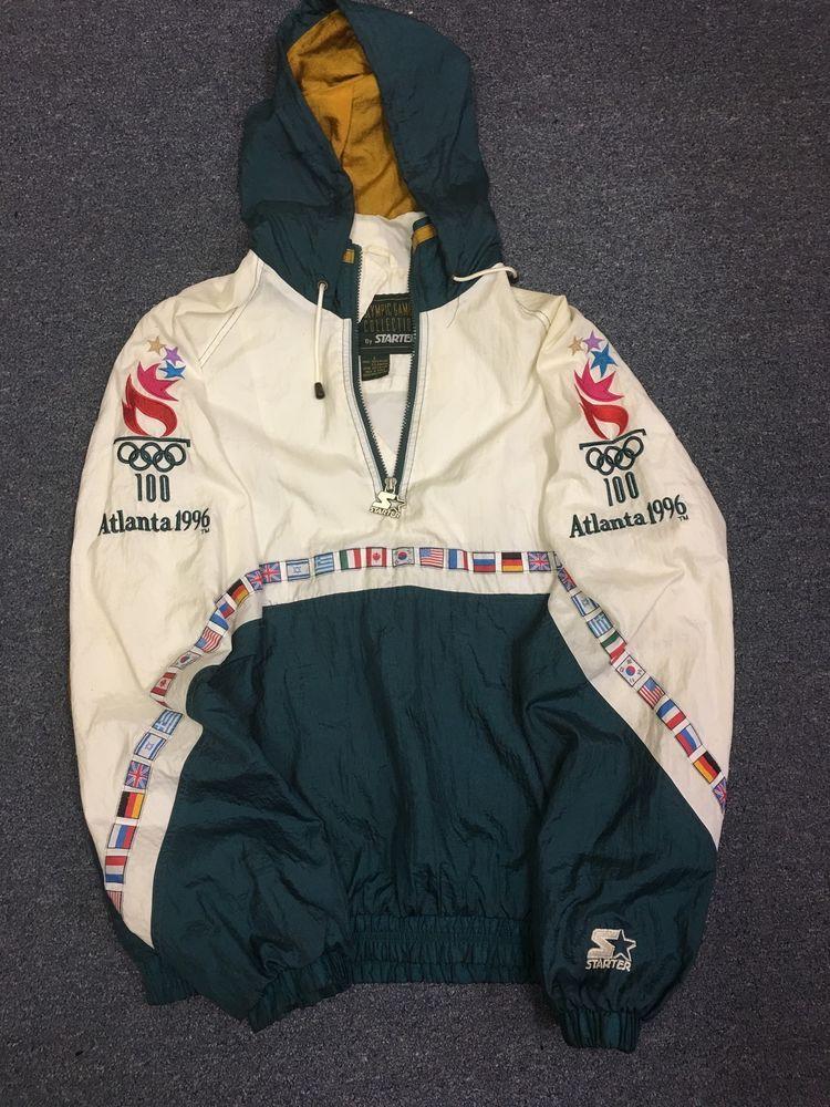Vintage 1996 Atlanta Olympics Starter Jacket in 2019  6c054d7d8