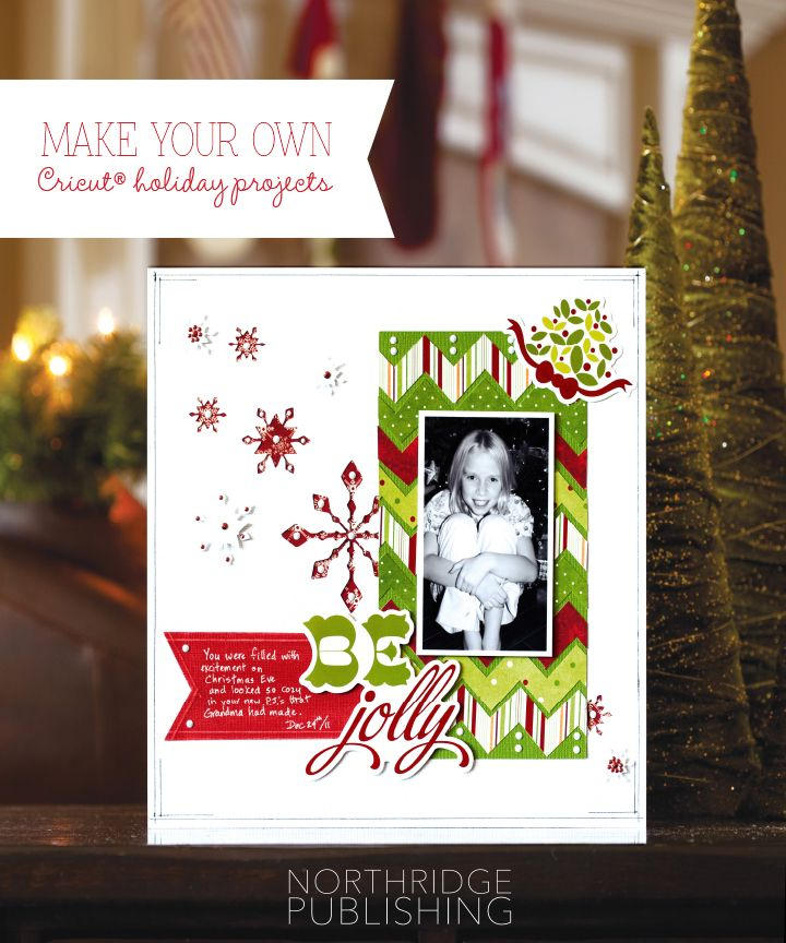 Christmas layouts using your Cricut® + 20 off coupon! Holly - coupon layouts