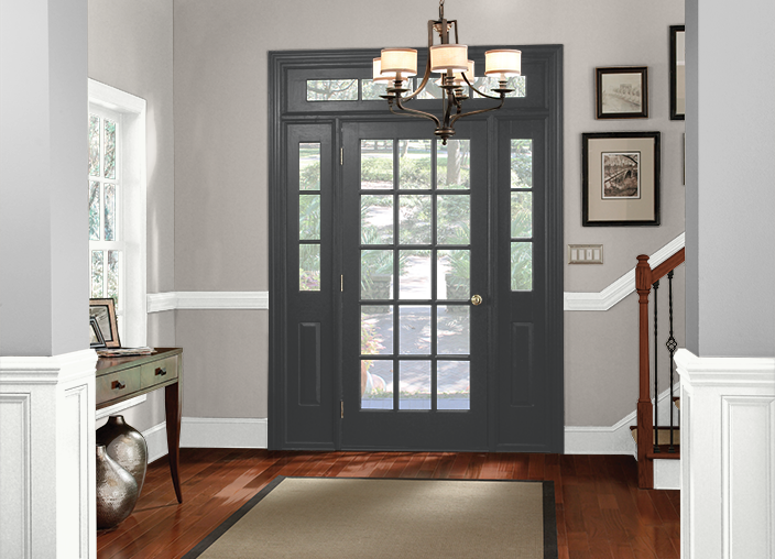 My Project Grey Painted Rooms Front Door Room Colors