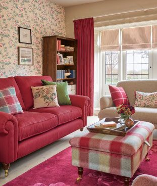 Cranberry Cottage Laura Ashley Such A Pretty Color