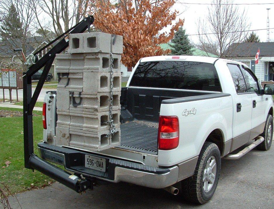 Truck Crane Hoist Truck cranes, Truck accesories, Trucks