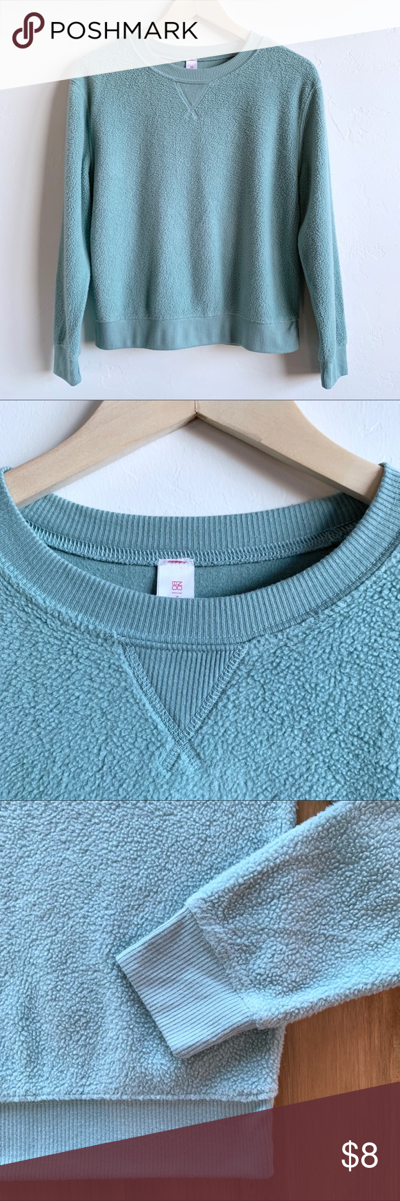 Small Cozy Sherpa Type Sweatshirt Sweatshirts Cozy Sherpa Sweatshirt Tops [ 1740 x 580 Pixel ]