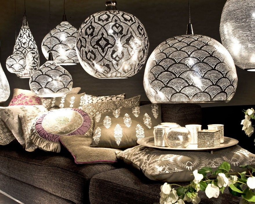 zenza pour une d co orientale chic lampe orientale pinterest luminaires nuit et. Black Bedroom Furniture Sets. Home Design Ideas