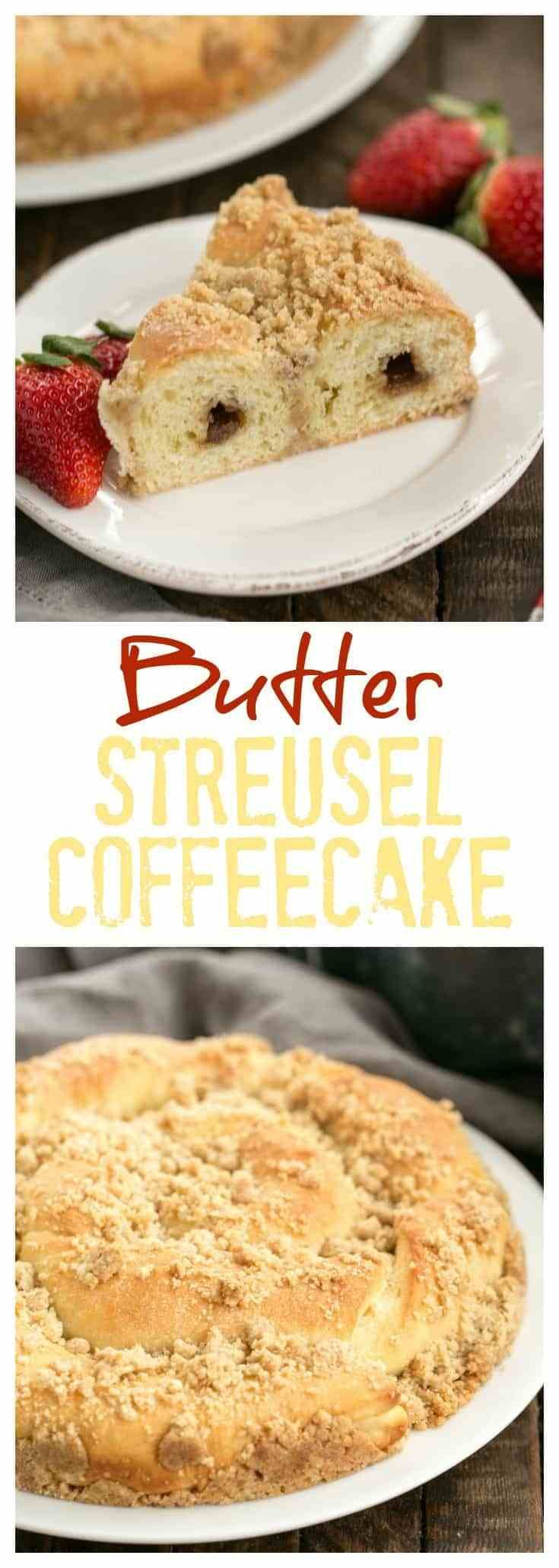 Copycat sara lee butter streusel coffeecake recipe