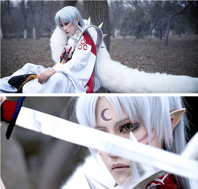 Inuyasha Sesshoumaru cospaly costumes is from…