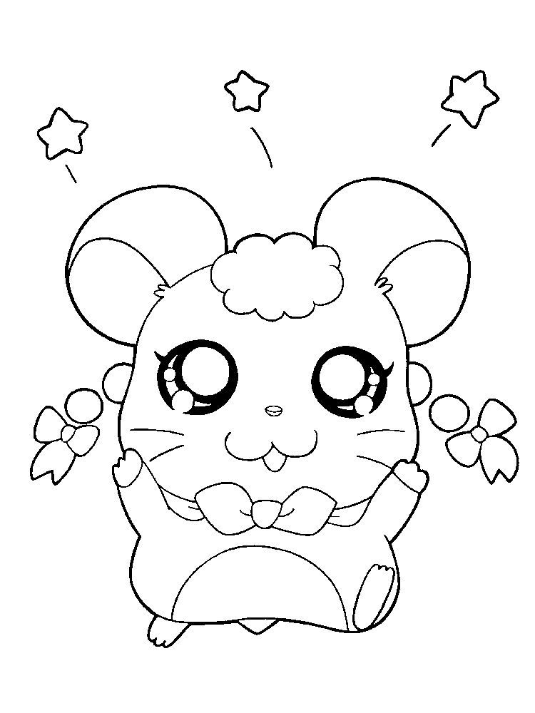Hamster Coloring Pages Easy Hamsters Small Animals That For Some People Look Like Mice Are S Puppy Coloring Pages Animal Coloring Pages Flower Coloring Pages