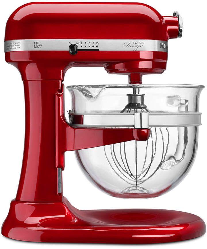 Kitchenaid Kf26m22 Professional 600 Stand Mixer With Glass