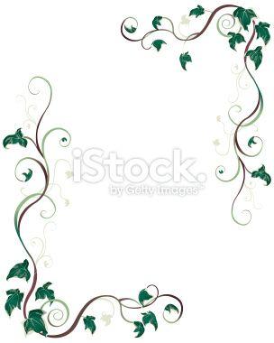 ivy vine tattoo designs   Ivy image - vector clip art online ...